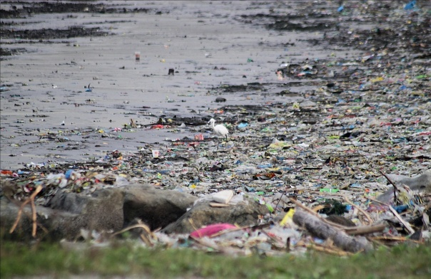 Manila Bay trash