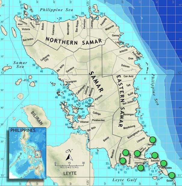 Eastern Samar Map - FPE